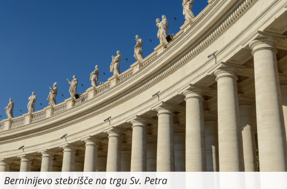 bernijevo stebrišče trg svetega petra